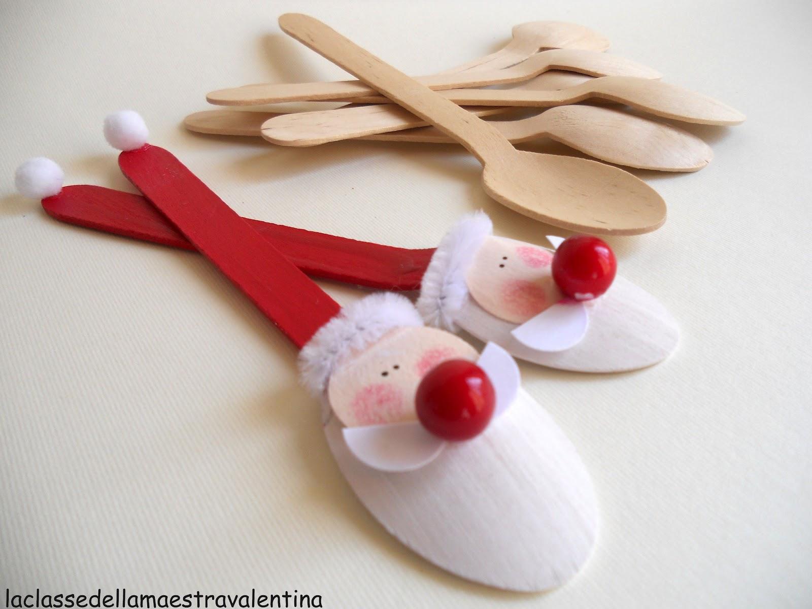 Lavoretti In Legno Per Natale la classe della maestra valentina: cucchiaini segnaposto