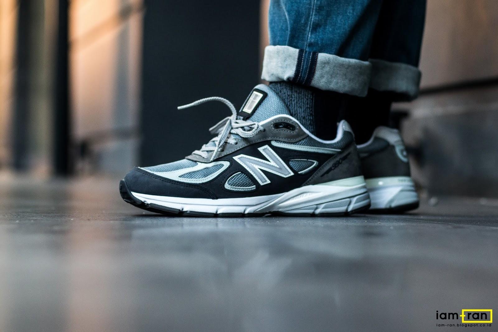 separation shoes 9f6e1 000dd IAM-RAN: ON FEET : Zulfikar Ali - New Balance 990v4 AEXG