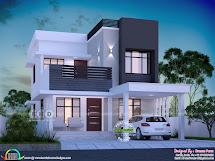 1645 Square Feet 3 Bedroom Modern House Plan - Kerala Home