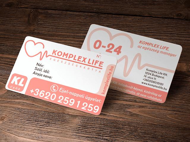 Komplex life / egészségkártya