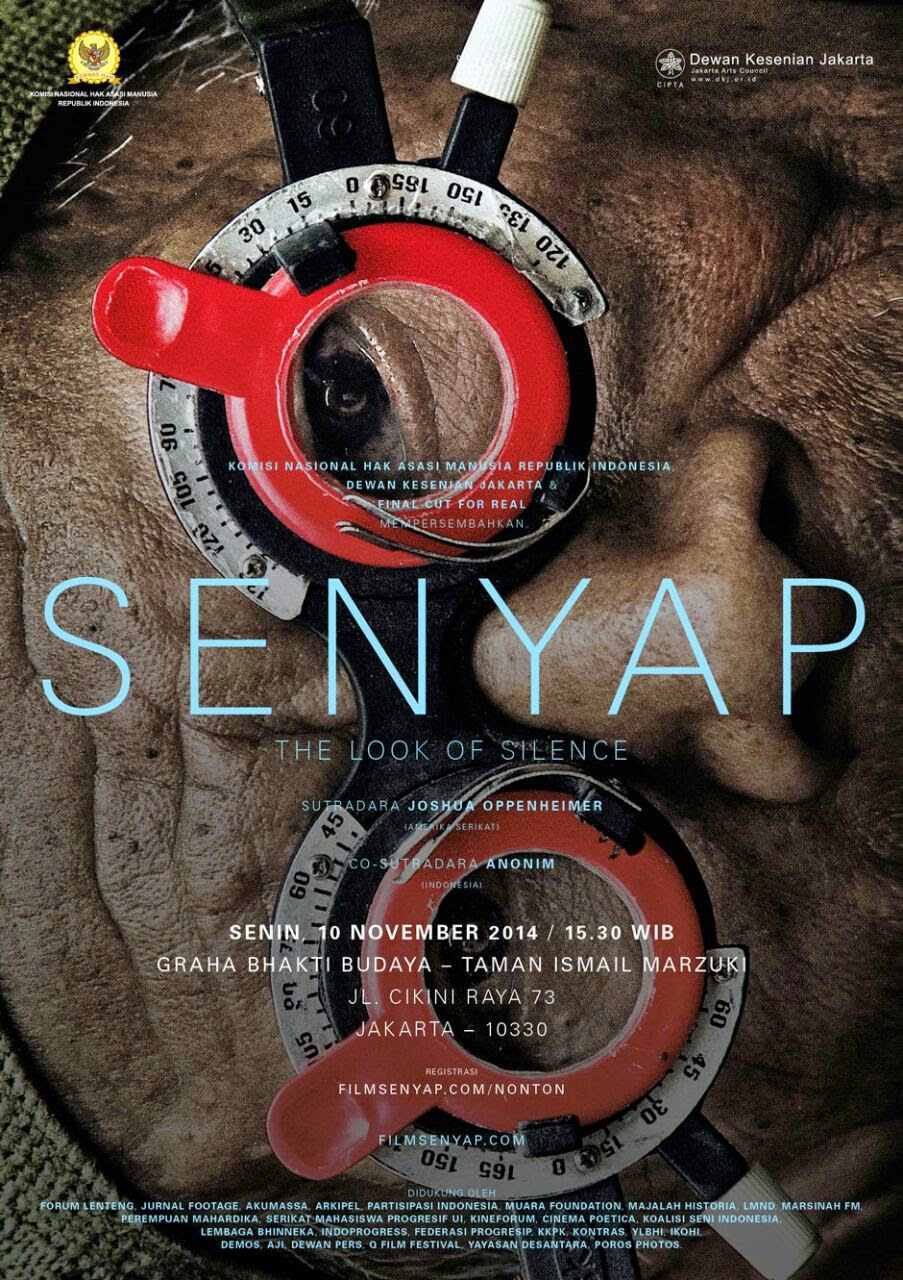 Film Dokumenter Senyap ''The Look of Silence''