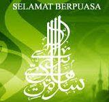 Bulan Ramadhan, selamat berpuasa