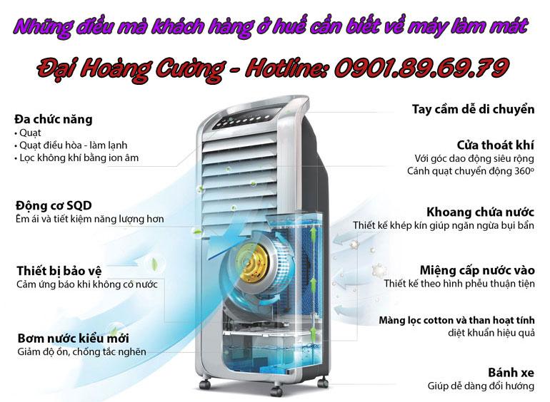 mua máy làm mát không khí ở đâu tại huế
