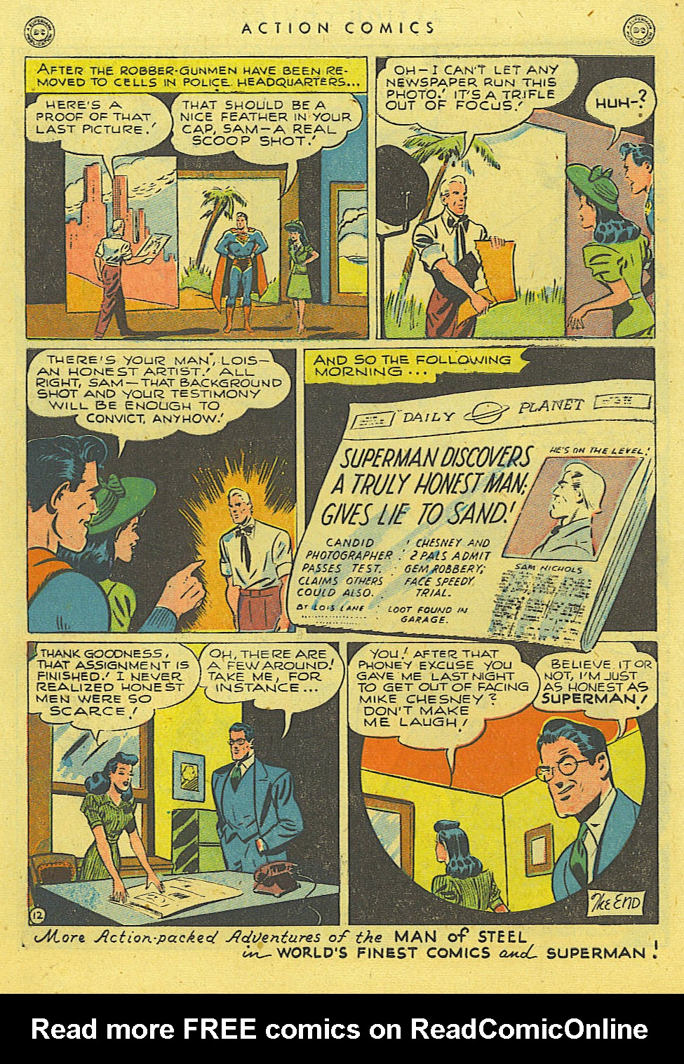 Read online Action Comics (1938) comic -  Issue #114 - 14