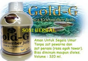 Jelly gamat gold g asli murah di soni herbal