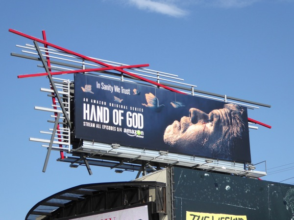 Hand of God season 1 billboard