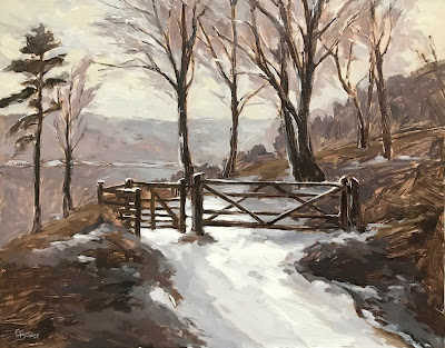#165 'The Gate, Devils Punch Bowl' 11×14″