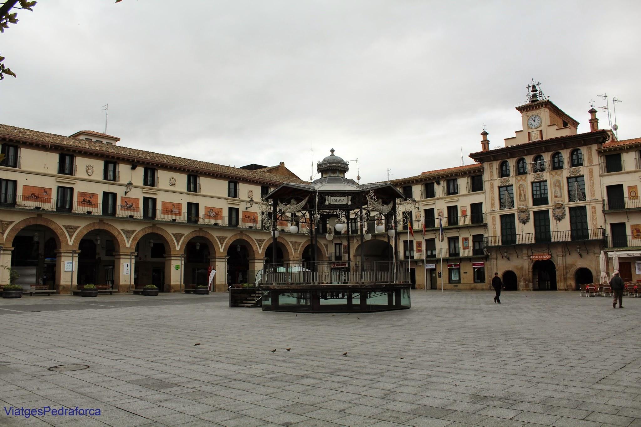 Tudela Plaza de los Fueros, Navarra