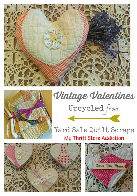 My Thrift Store Addiction Vintage Charm link party