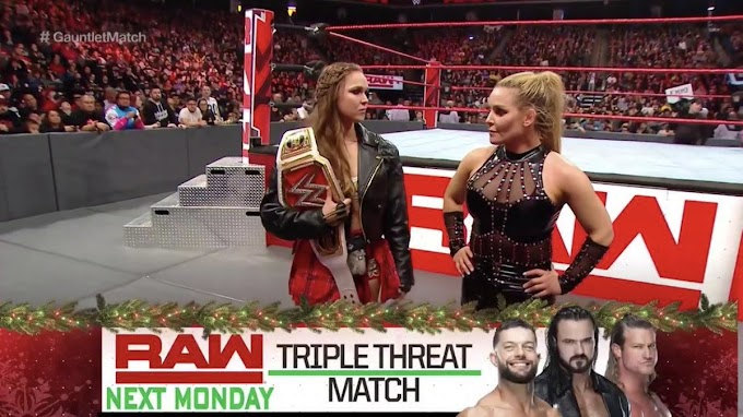 SPOILERS do WWE Monday Night RAW 24/12/2018