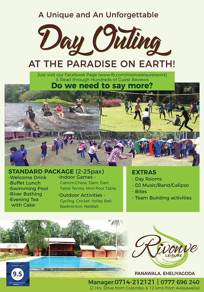 Rivonve Leisure Resort | A unique and unforgettable Day Outing at the Paradise on Earth.
