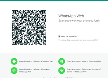 WhatsApp Web on Desktop