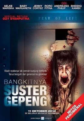Poster Film Bangkitnya Suster Gepeng