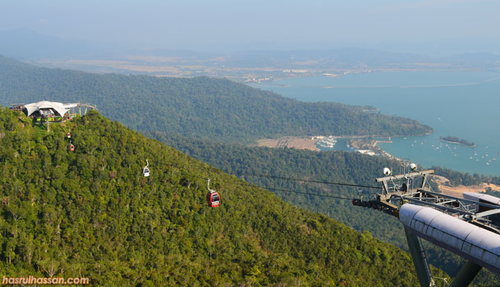 Langkawi Sky Bridge and Sky Cable
