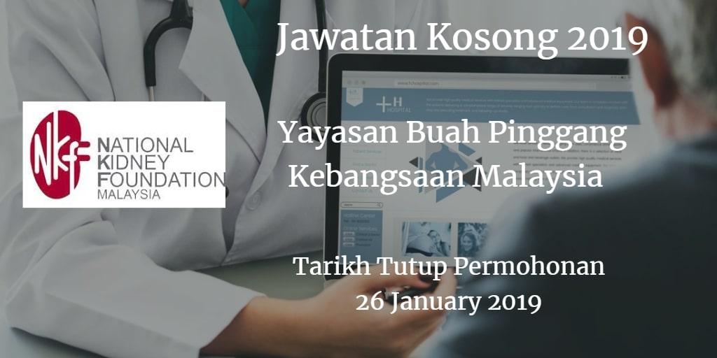 Jawatan Kosong NKF 26 January 2019
