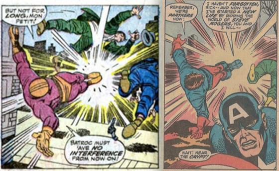 Avengers 106 Captain America Bucky