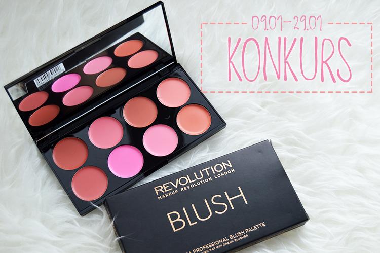 KONKURS | Wygraj paletę kremowych róży Make Up Revolution [zakończony]