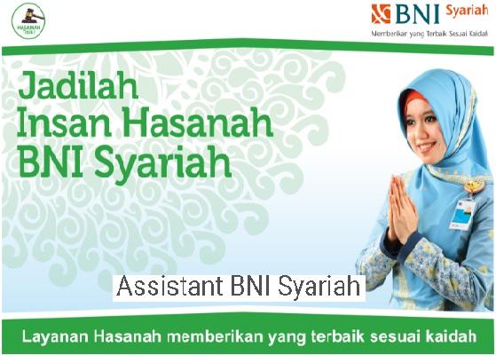 Lowongan Kerja Bank BNI Syariah, Lowongan Besar Besaran Tahun 2017