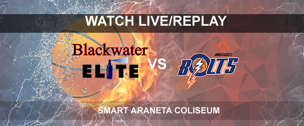 List of Replay Videos Blackwater vs Meralco September 28, 2017 @ Smart Araneta Coliseum