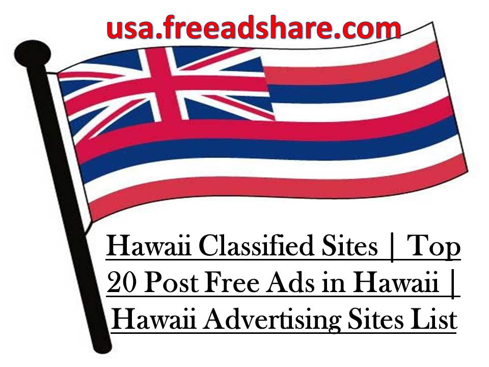 Hawaii Clified Sites 2018 Advertising List
