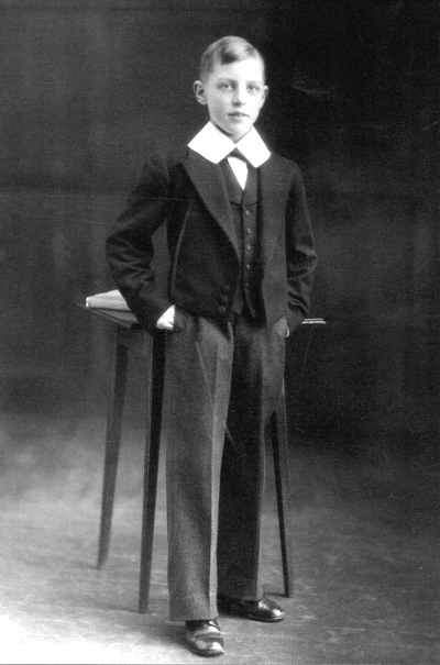 George Greaves, aged 11 in 1934 (Chorister, 1934-1937)