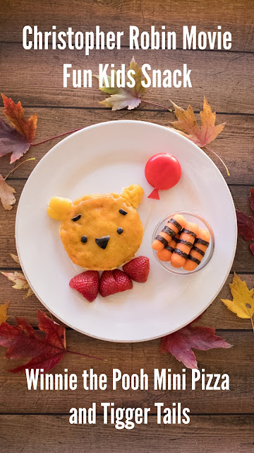 How to make a Winnie the Pooh mini pizza!