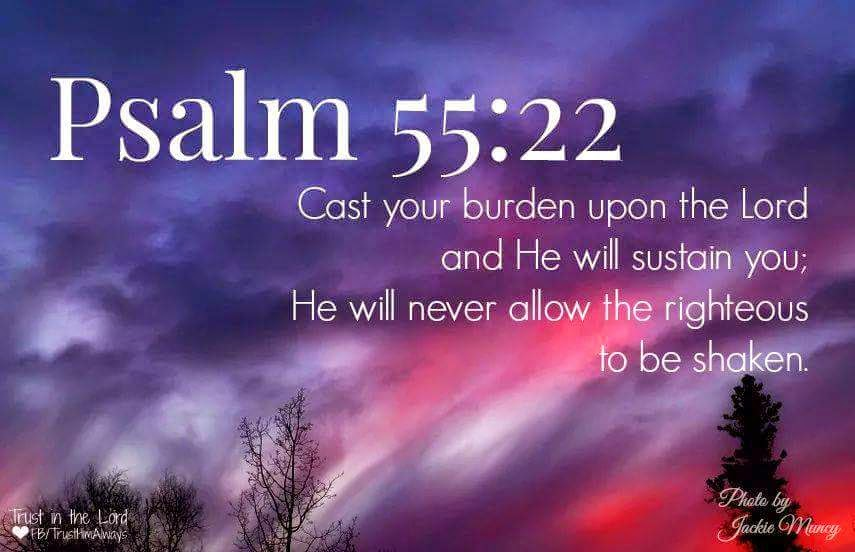 God Quotes Hd Wallpaper Anita Hewitt Give It To The Lord Psalm 55 22