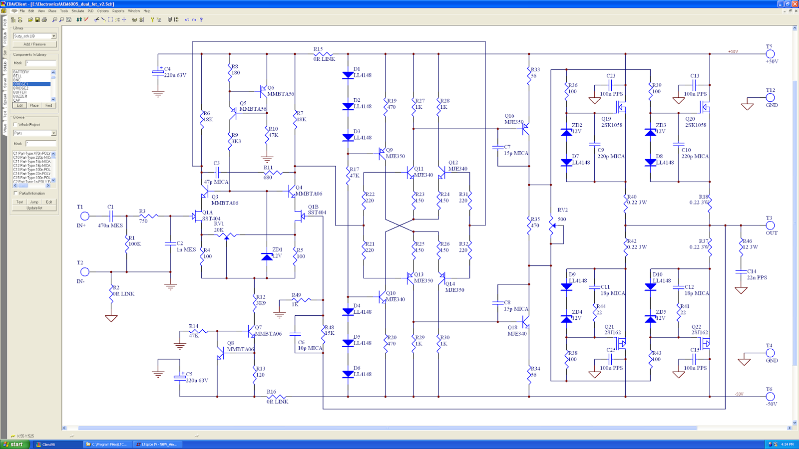 Together With Audio Lifier Circuit Diagram As Well Mosfet Circuit