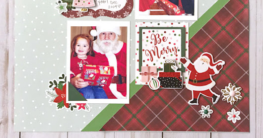 Merry and Bright Layout | Echo Park