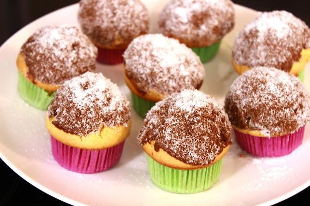Mafini-sa-kokosom-kapkejk-čokolada