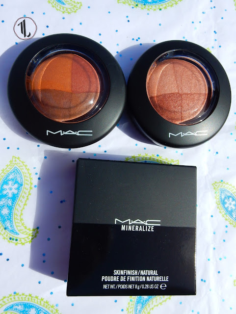 M.A.C Mineralize Skinfinish haul - www.modenmakeup.com