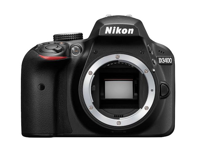 Nikon D3300 vs D3400