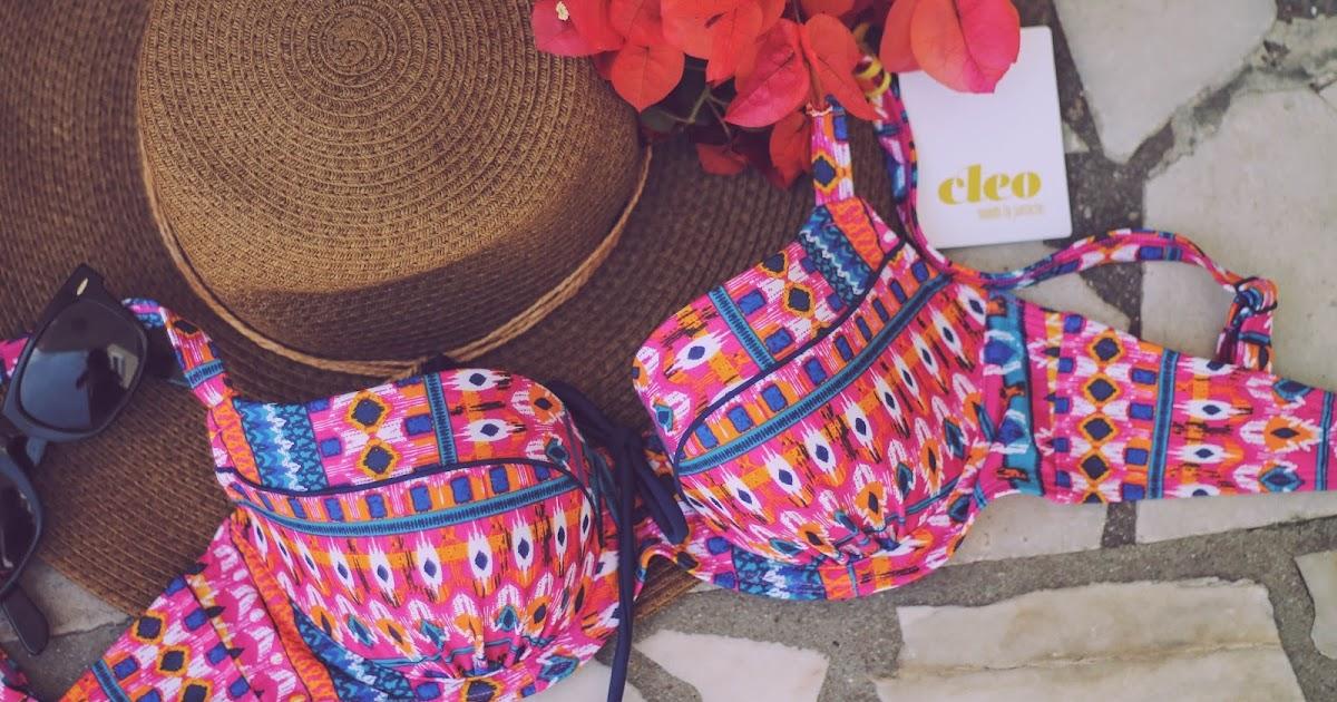 Panache Cleo Swimwear Tilly Bikini Top 32D