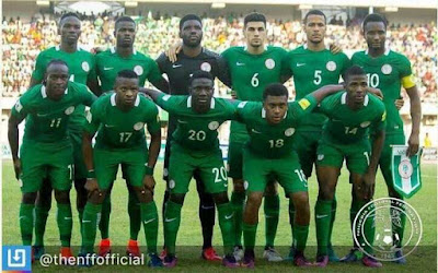 Super Eagles Remain on 45th Spot in FIFA Rankings