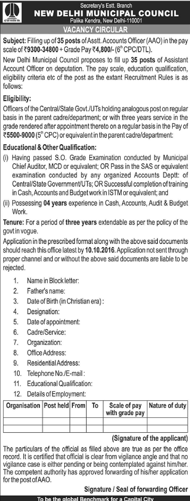 application letter for the post of education officer Looking for an application letter to bank manager here are some handy ideas that will guide you to quickly write an application letter to bank manager.