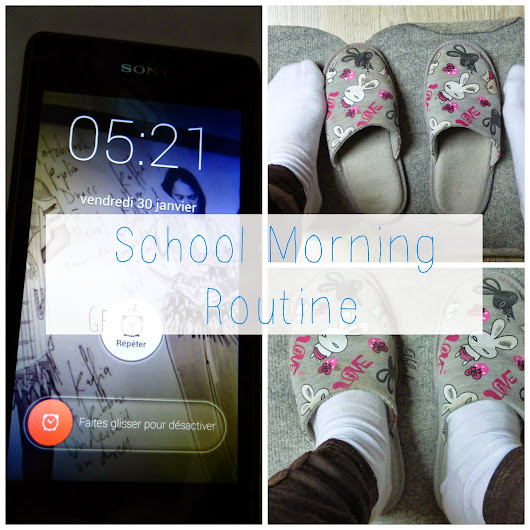 School morning routine#1