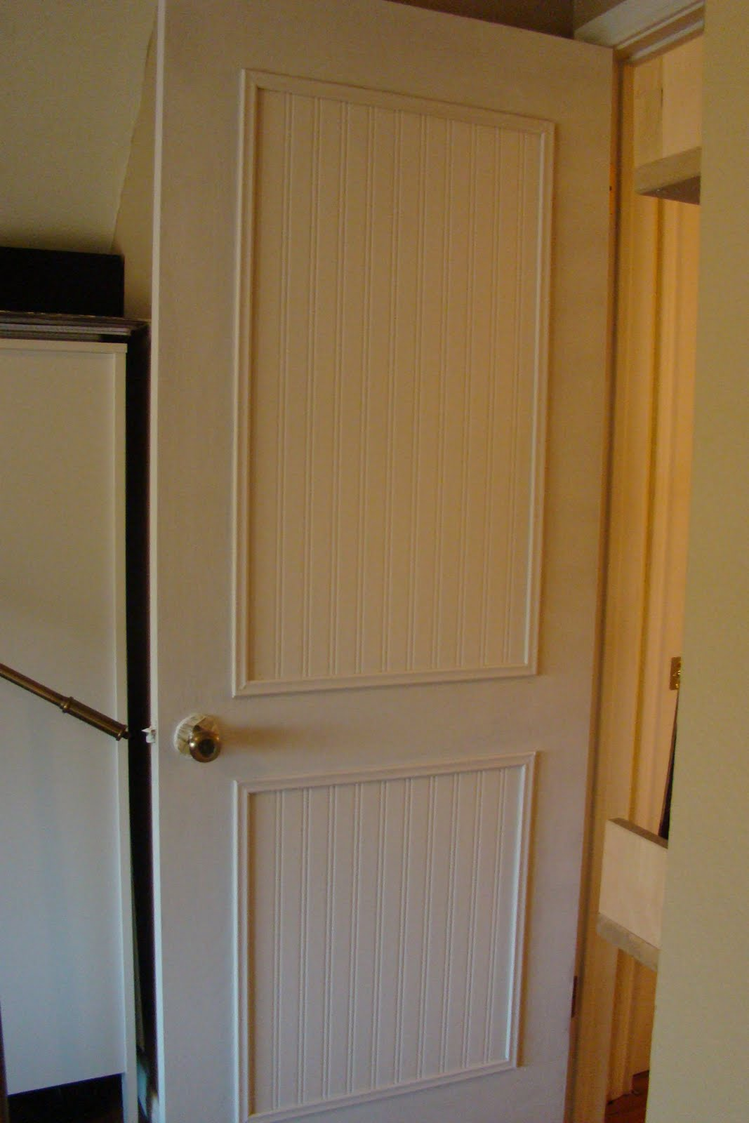 Diy Vanity Doors One Life To Love Diy Beadboard Door Rock The Vote Reveal