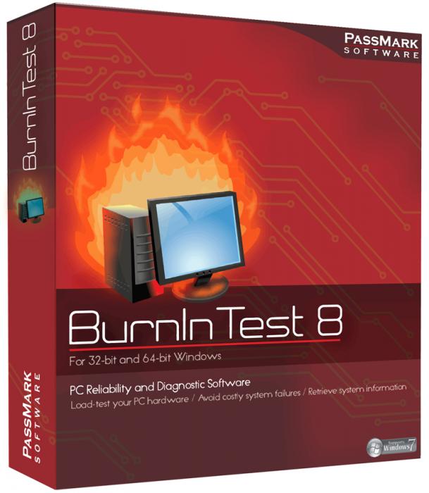 PassMark BurnInTest Professional 8.1 Build 1013
