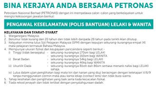 Kerja Kosong Polis Bantuan Petronas