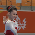 Then Fourteen Year Old Daria Elizarova Does A Switch Leap Immediately To Forward Tuck Without Hesitation On Balance Beam