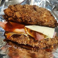 KFC double down slimming