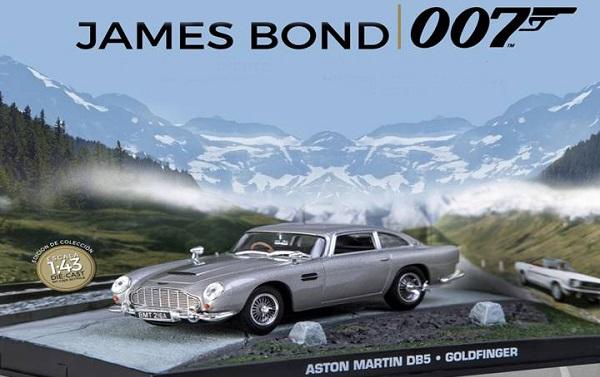 Autos a escala colección James Bond La Nación