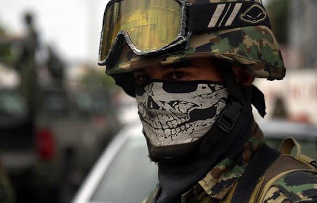 Marinos han convertido un pueblo en Nuevo León en tiradero de cadáveres
