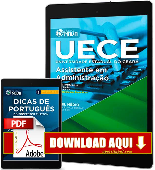 Apostila UECE 2016 PDF Download Assistente em Administração