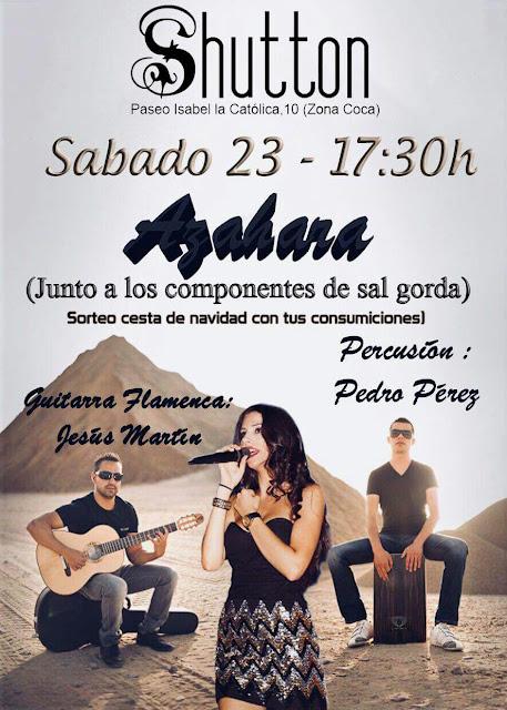 Música en Directo Azahara con Sal Gorda