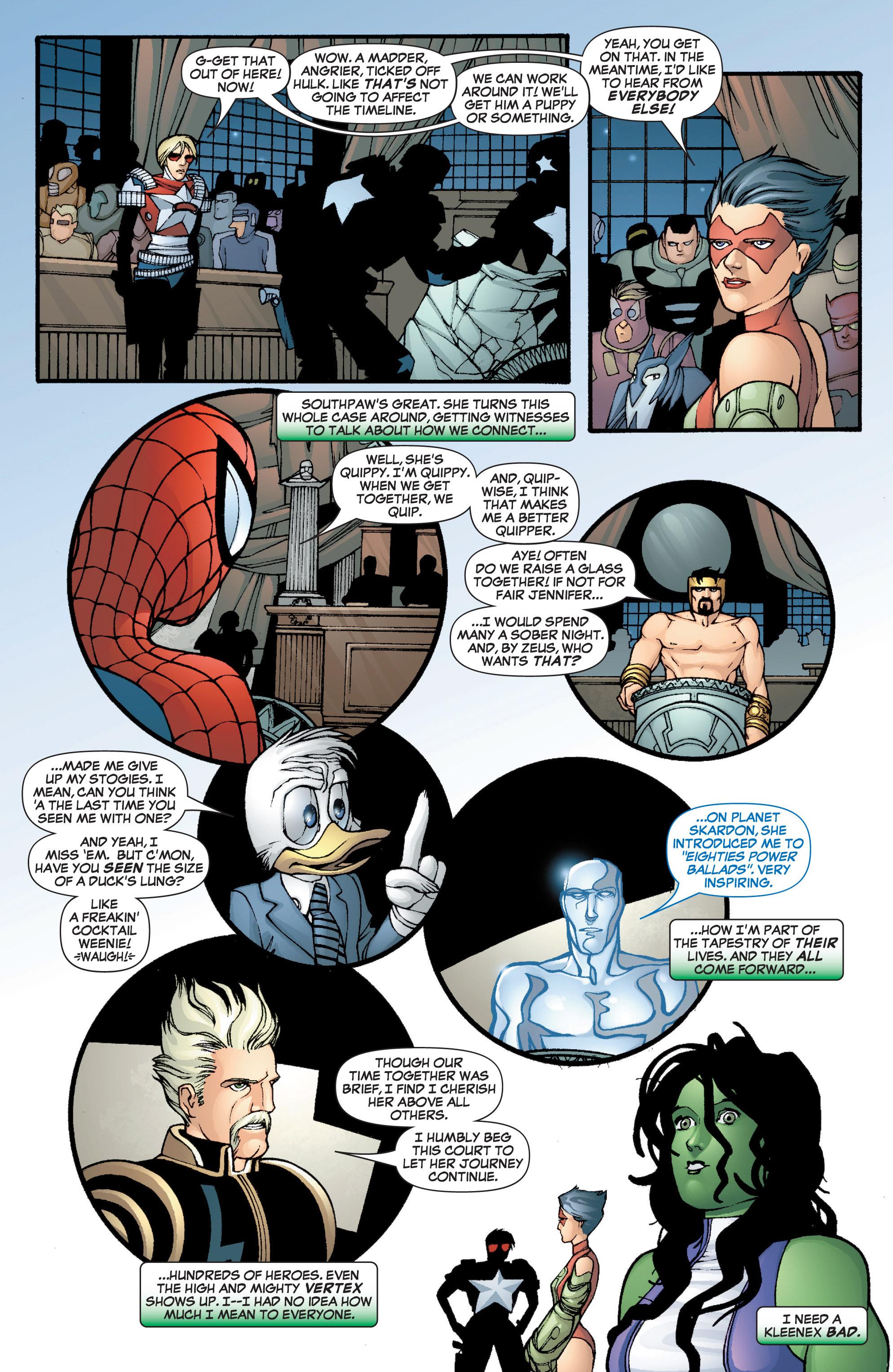 Read online She-Hulk (2005) comic -  Issue #3 - 25