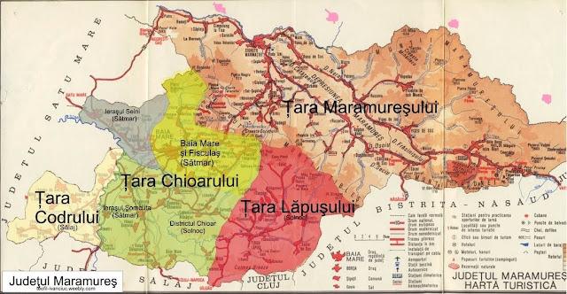 Maramuresul si regiunile sale istorice