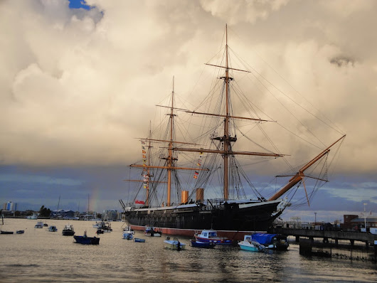 """... our first armourclad ship of war, would cause a fundamental change"" - HMS Warrior"