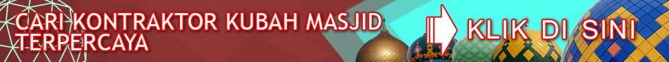 Kontraktor Kubah Masjid Malang Terpercaya