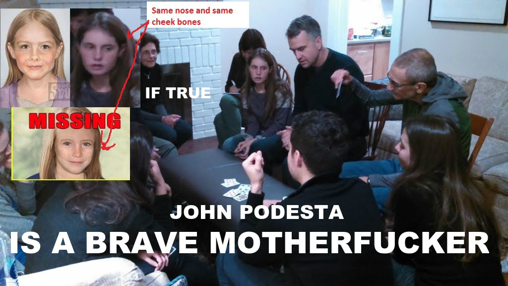 pizzagate meme John Podesta, Madeleine Mccann